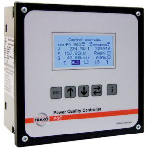 Frako Power Quality Controller, 12 Stage, 1-Phase